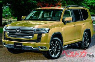 В сеть слили новые подробности о Toyota Land Cruiser 300
