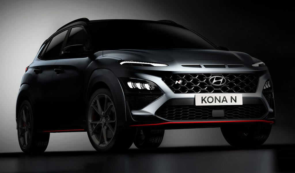 Hyundai раскрыл некоторые подробности о кроссовере Kona N