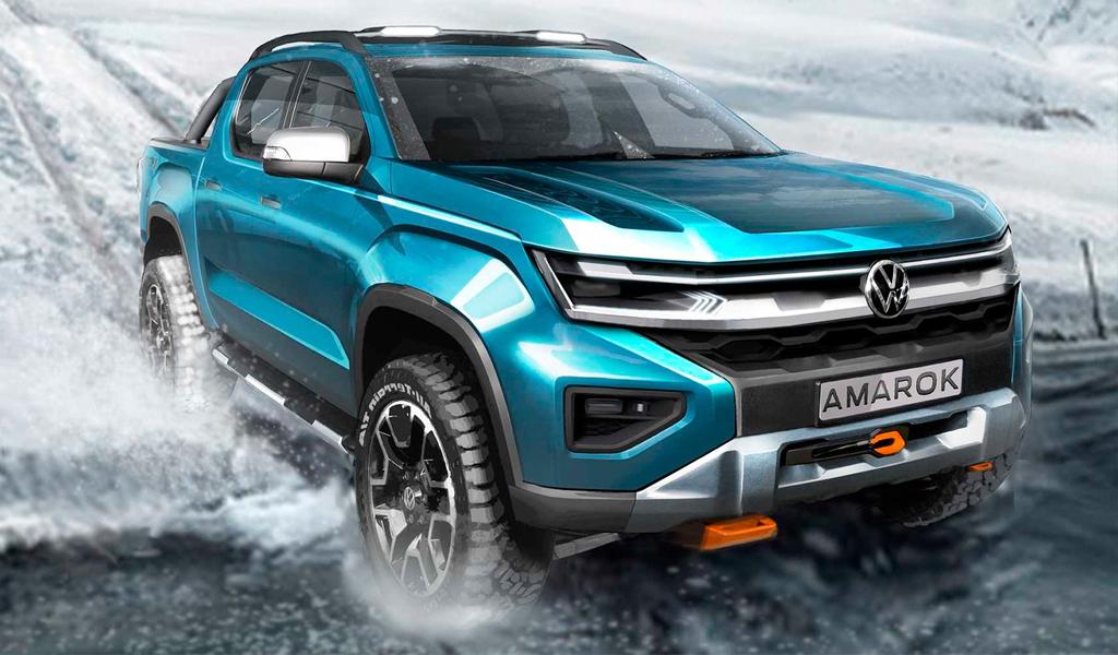 Volkswagen показал как будет выглядеть следующий Amarok
