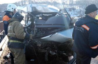В Новосибирской области два человека погибли и шестеро пострадали в ДТП с автобусом