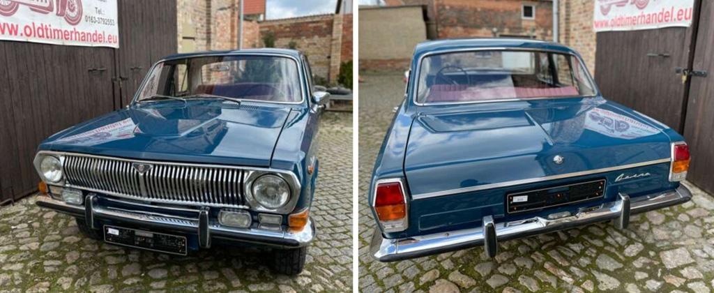 В Германии продают ГАЗ-24 «Волга» 1983 года
