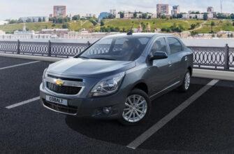 Компания Chevrolet подняла цены на автомобили в России