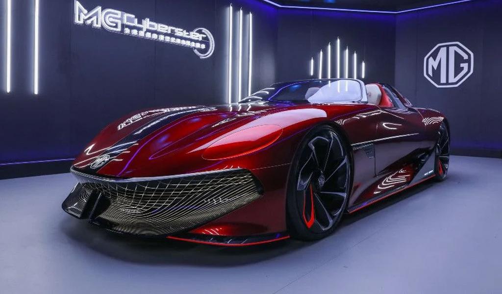 Компания MG объявила о сборе денег на новый электрический спорткар