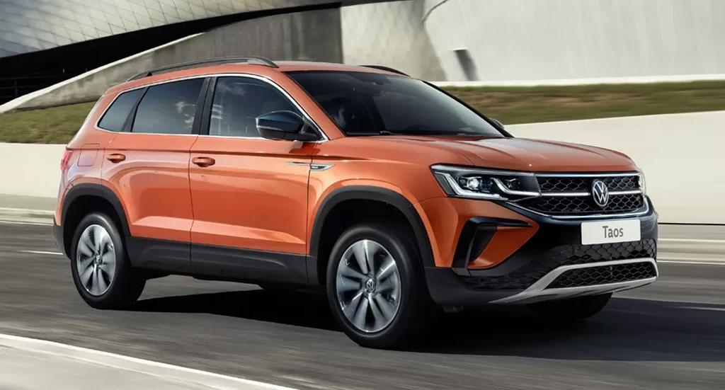 В России началось производство кроссовера Volkswagen Taos