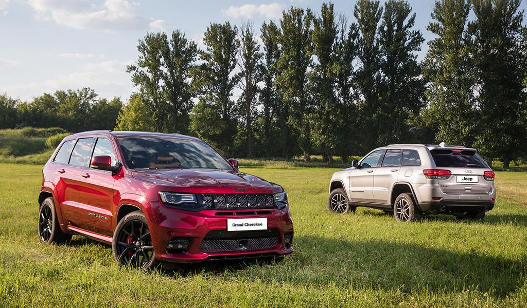 Jeep похвастался ростом продаж автомобилей в России