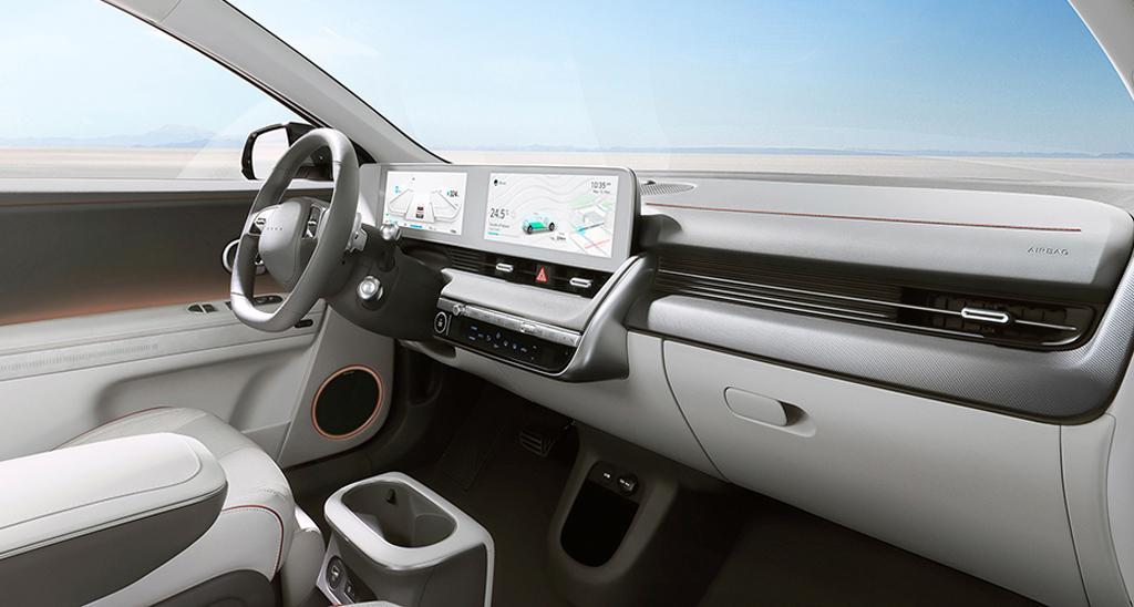 Салон Hyundai Ioniq 5