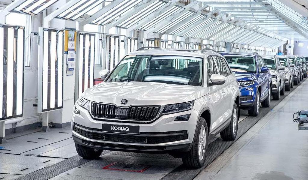 В России выпущено уже 750 тысяч автомобилей SKODA