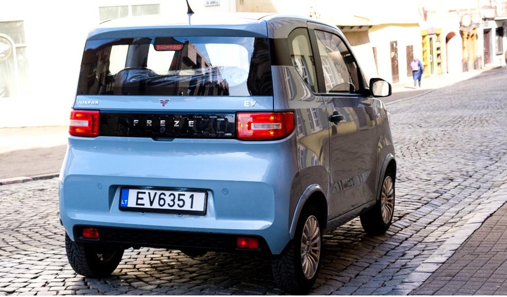 Латвийская и литовская компании выпустили электромобиль FreZe