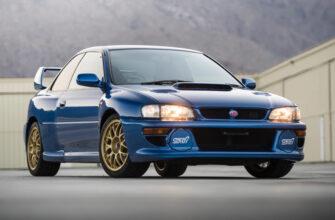Редкий Subaru Impreza STi 1998 года продают за 12 млн рублей