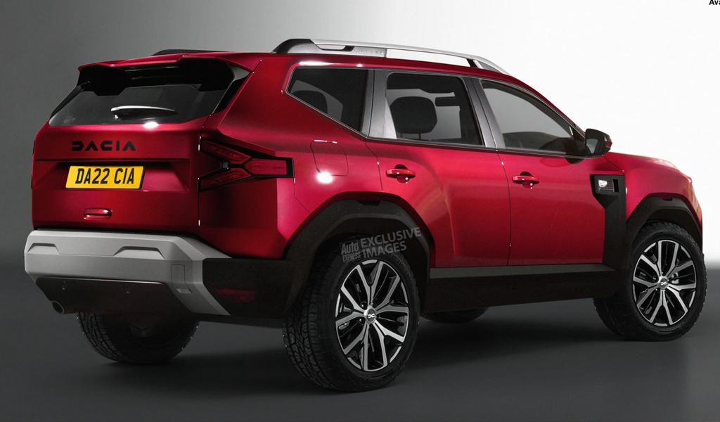 В сети показали рендеры нового кроссовера Dacia Bigster