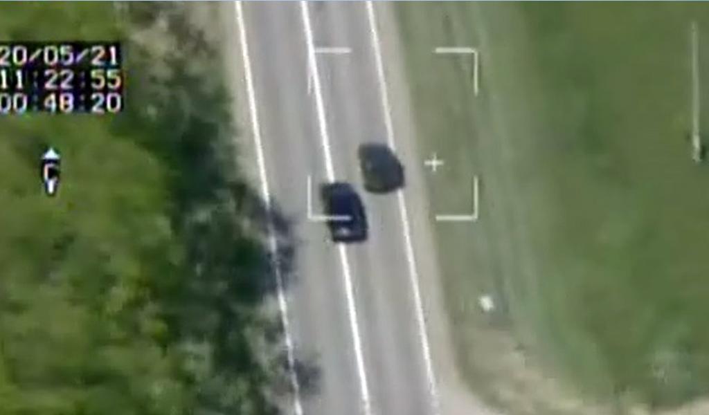 В ГИБДД рассказали как дроны помогают ловить нарушителей