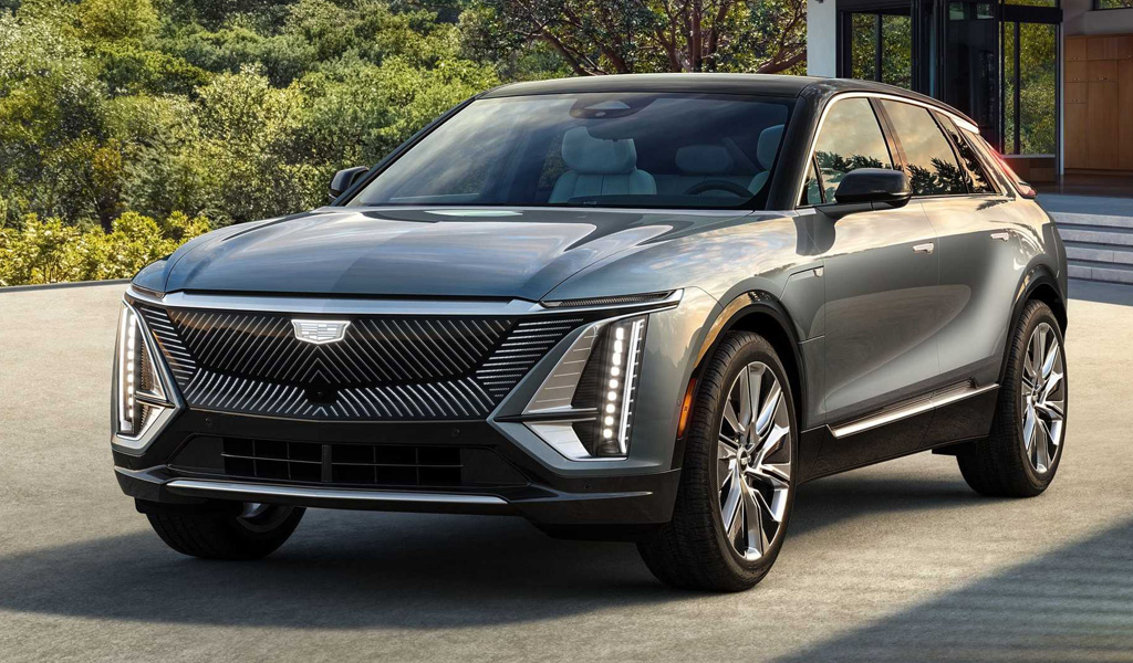 Электрокроссовер Cadillac Lyriq