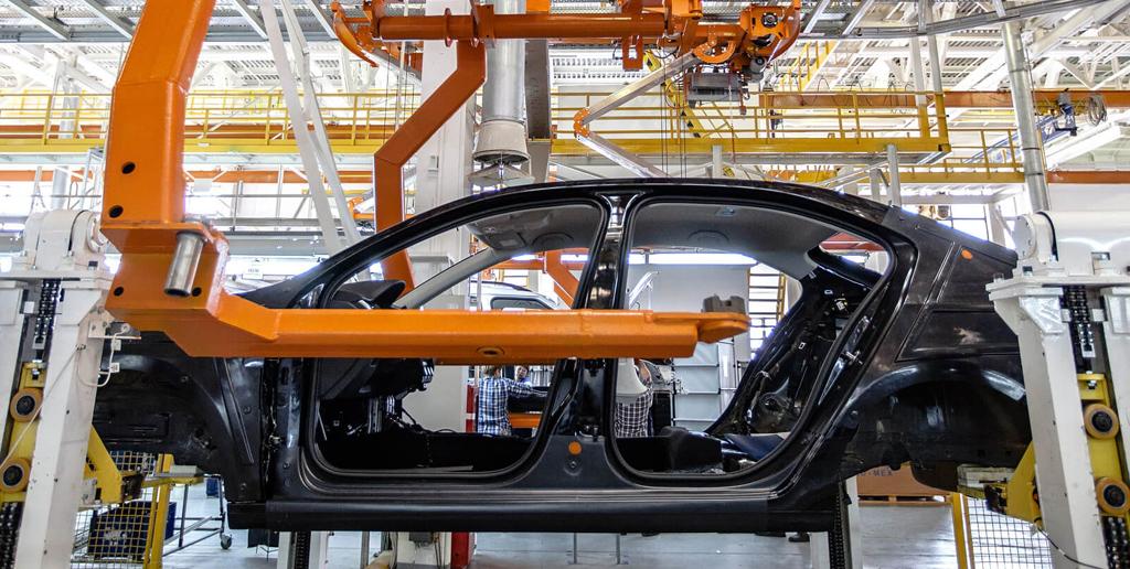 В России увеличилось производство автомобилей