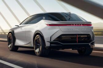 В 2022 году Lexus начнет серийное производство нового электрокроссовера