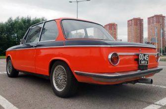 В России за миллион рублей продают редкий 2-дверный BMW 1972 года