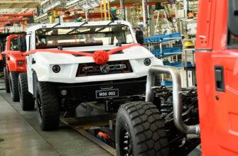 В Китае началось производство конкурента Hummer от DongFeng