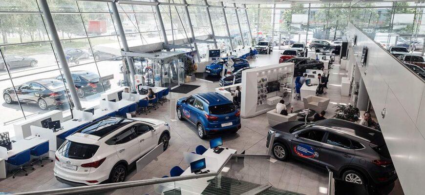 В 2020 году на территории РФ увеличилось количество официальных автодилеров