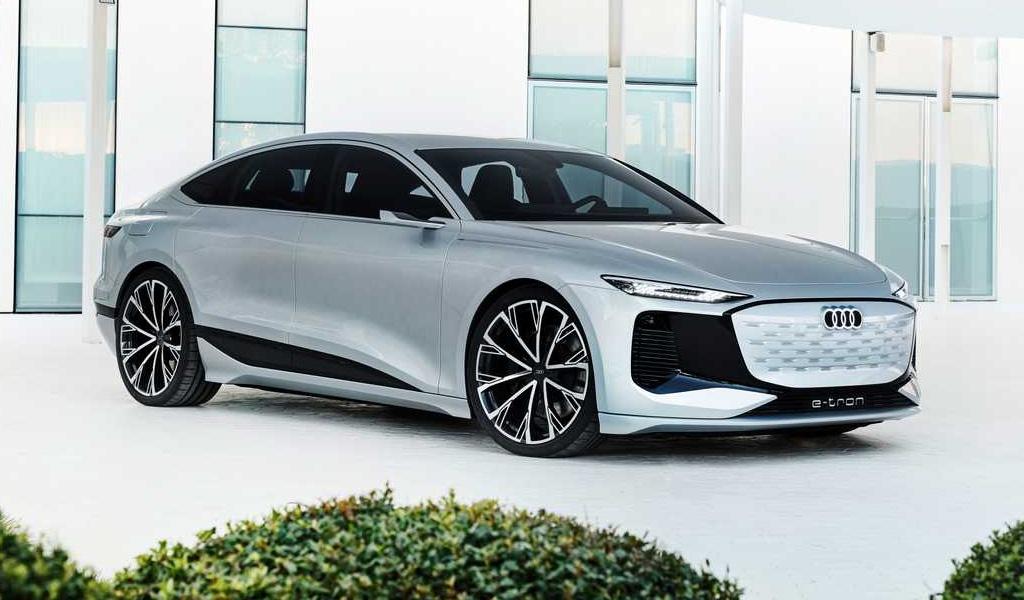 Audi представила концепт электрокара A6 e-tron с запасом хода 700 км