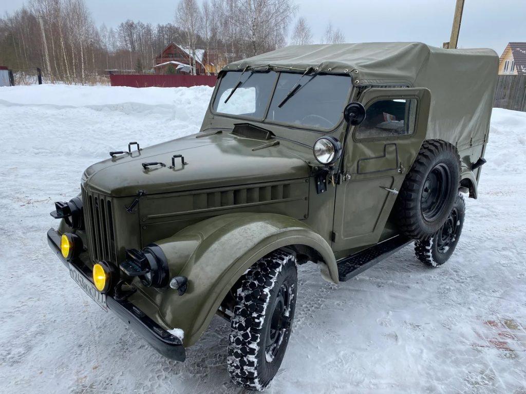 В России продают 50-летний ГАЗ-69 за 3 млн рублей