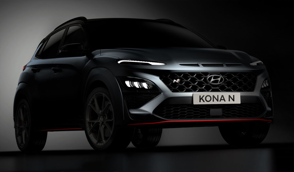 Hyundai опубликовала фотографии кроссовера Kona N