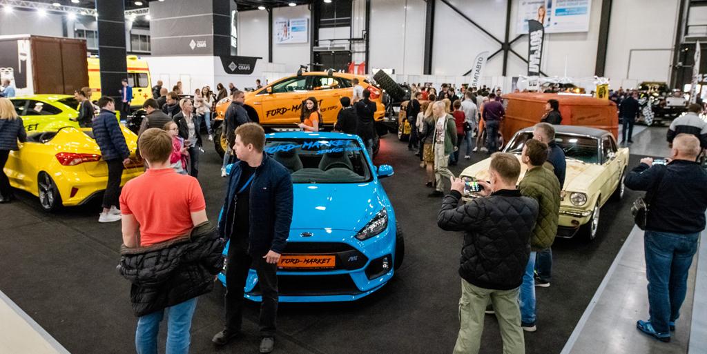 8 апреля начнет работать Петербургский международный автосалон 2021.
