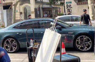 В Китае засняли новый седан Audi A7L