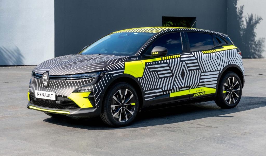 Renault показал электрокроссовер Megane E-Tech