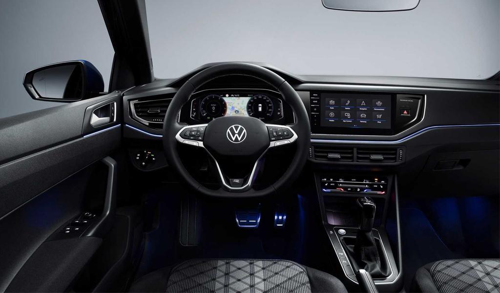 Салон обновленного Volkswagen Polo