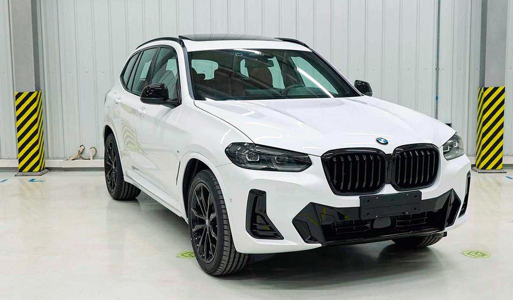 Новая внешность BMW X3 рассекречена
