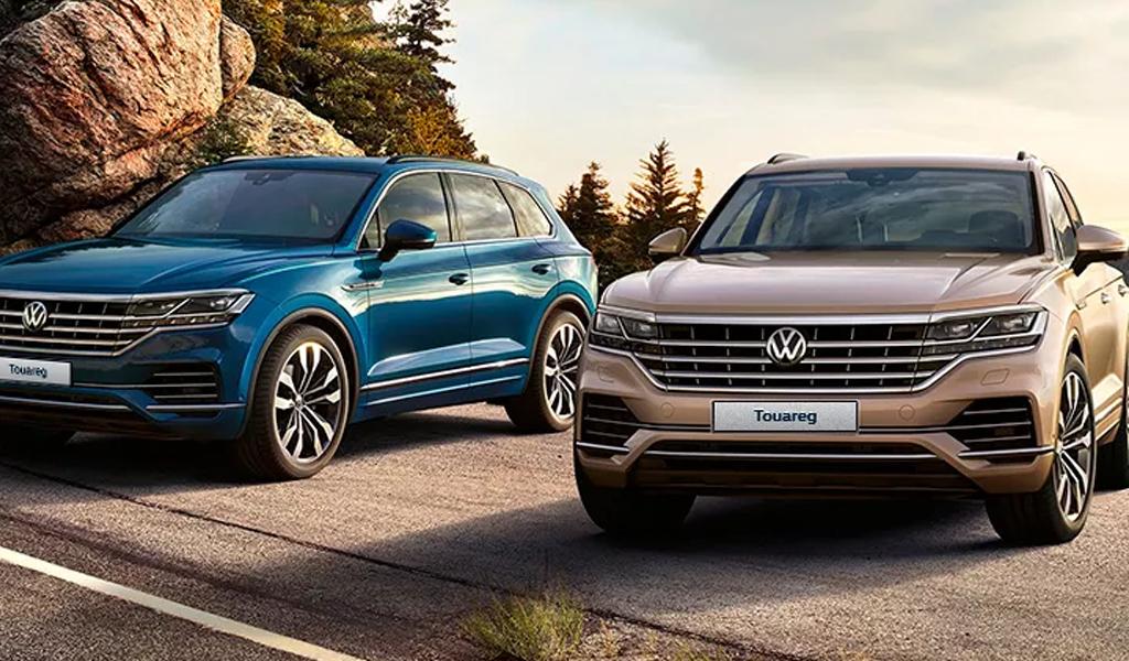 В России подешевел кроссовер Volkswagen Touareg