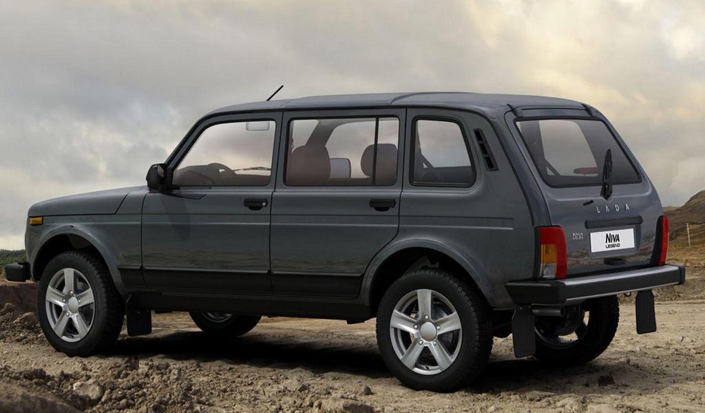 Источник: АВТОВАЗ уже летом завершит производство пятидверной Lada Niva Legend