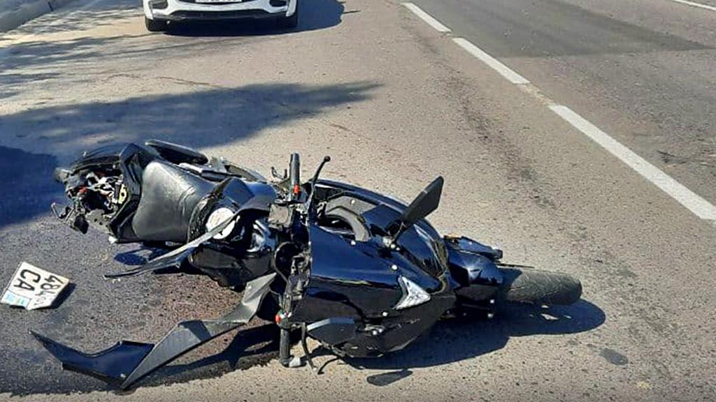 В Ташкенте «Нексия» насмерть сбила мотоциклиста