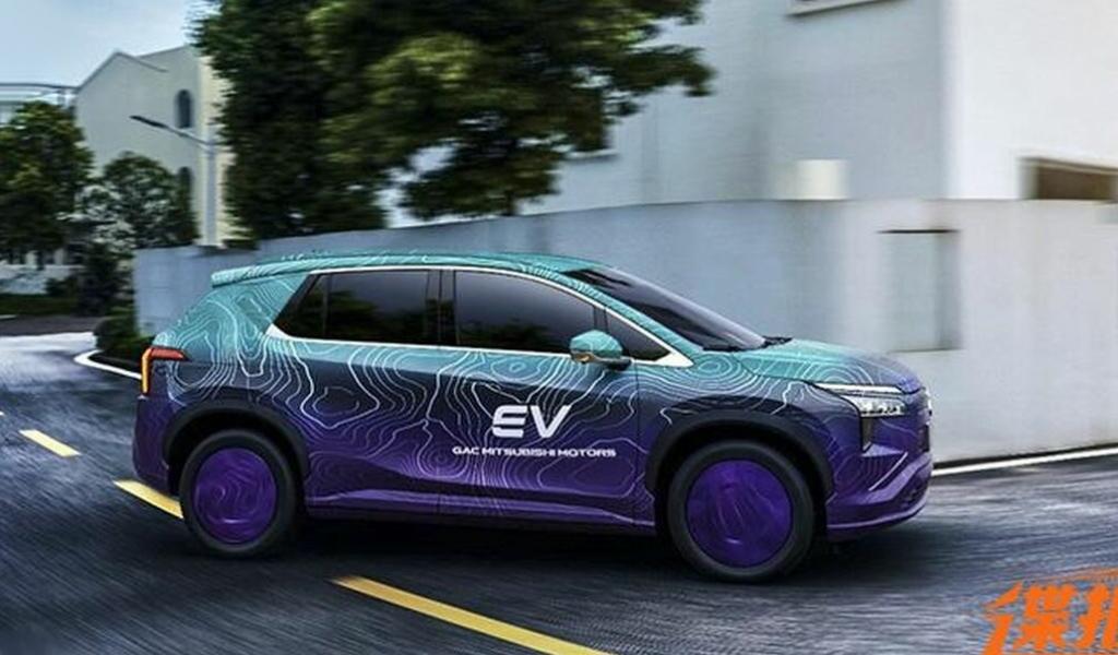 Опубликованы фото нового электрокроссовера Mitsubishi