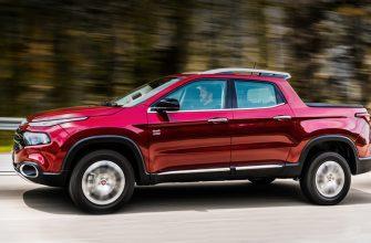 В сети появились «шпионские» фото обновленного пикапа Fiat Toro