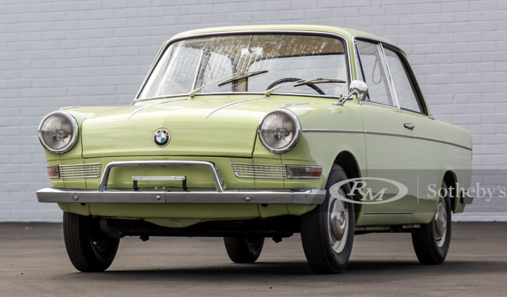 На продажу выставили микролитражнку BMW 1964 года