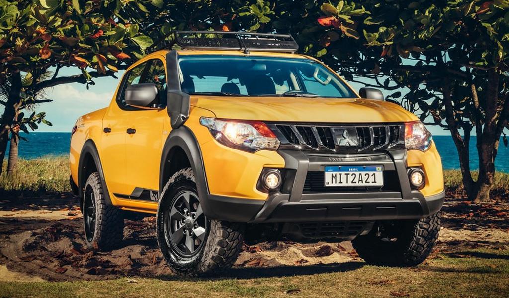 Mitsubishi представила внедорожную версию пикапа L200 Savana