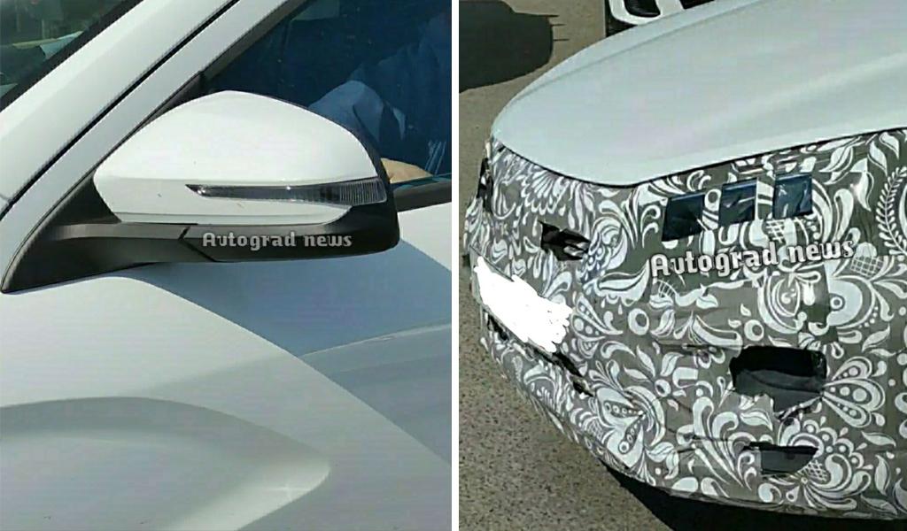 Опубликована новая порция «шпионских» фото новой Lada Vesta