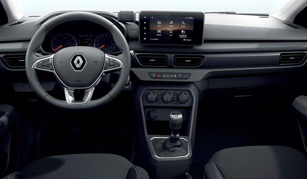 Renault опубликовала фото салона нового бюджетного седана