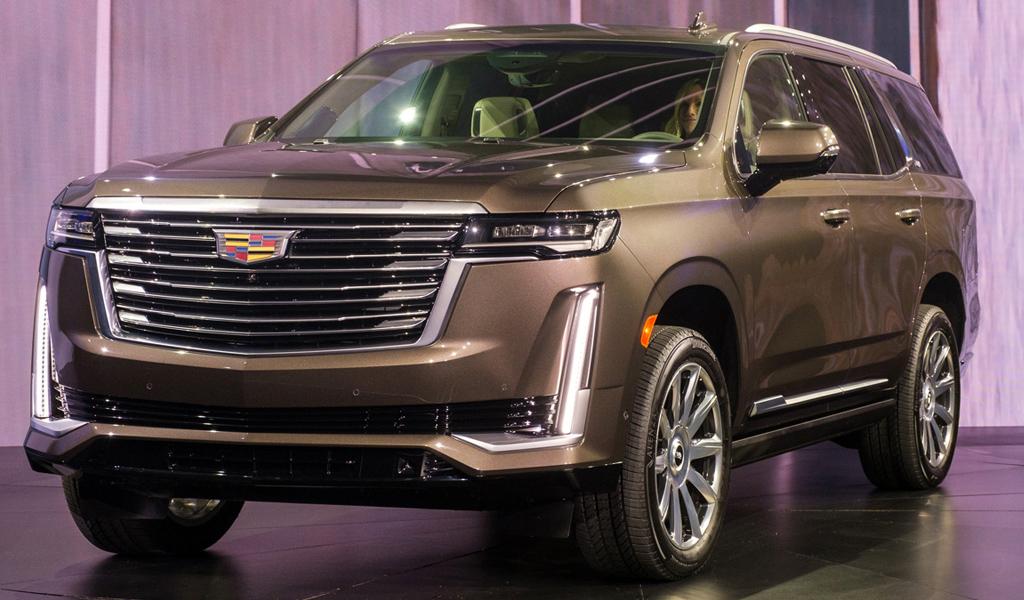 Названа дата старта продаж в России нового Cadillac Escalade