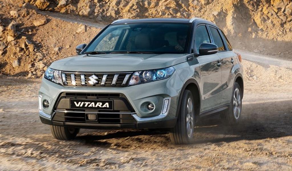 Suzuki Vitara стала бестселлером марки в мае