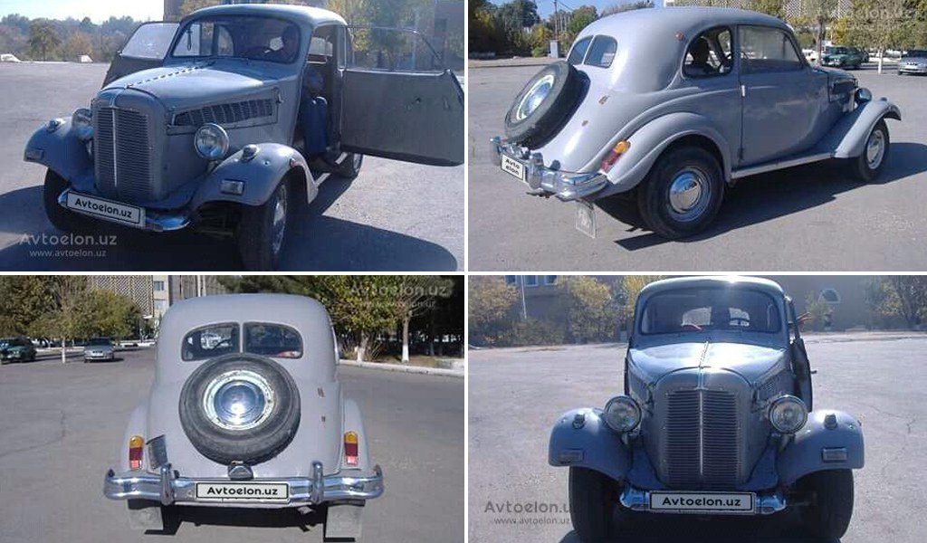 В Узбекистане продают Opel Kadett 1939 года за 100 тысяч долларов