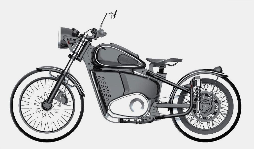 В России запатентовали электромотоцикл от концерна «Калашников»