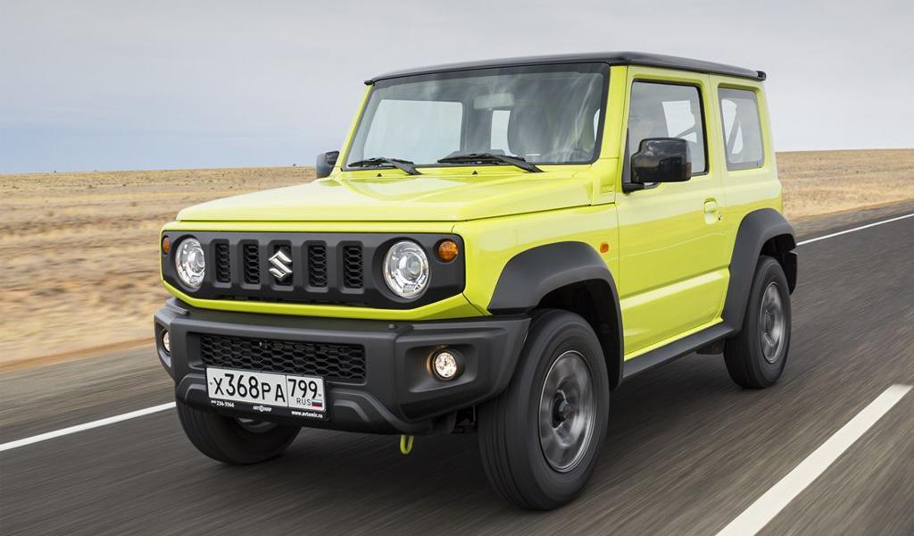 Suzuki серьезно увеличила продажи в России