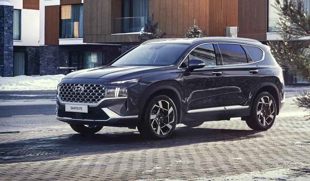 Названа стоимость обновленного Hyundai Santa Fe