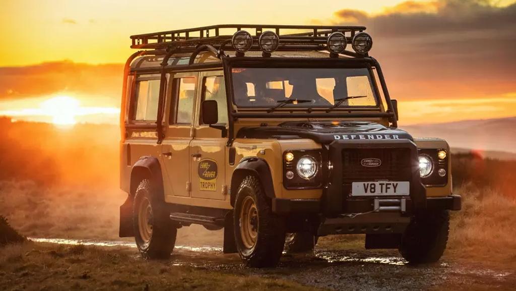 Дорогую лимитированную серию Land Rover Defender раскупили за 72 часа
