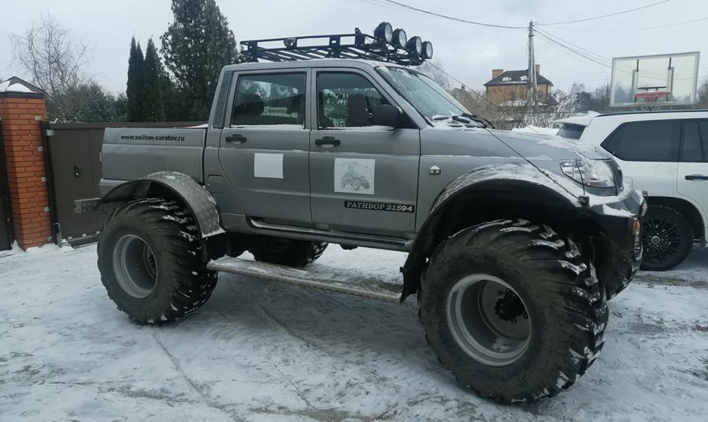 В России на продажу выставлен необычный УАЗ Пикап за 3 млн рублей