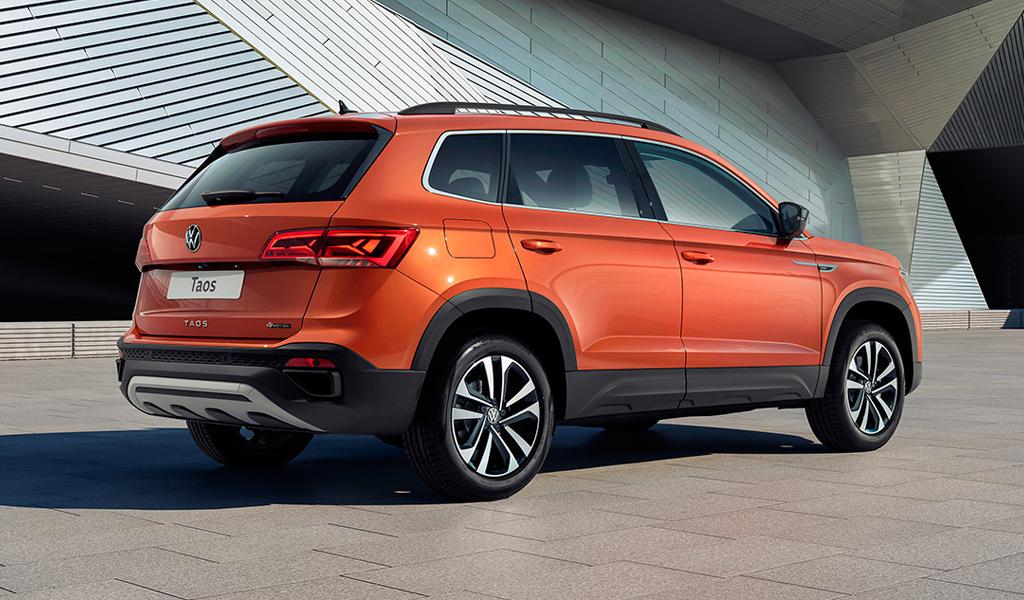 Volkswagen рассказал о новом кроссовере Taos для России