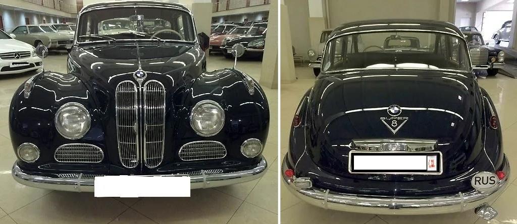 BMW 502, выпущенный в 1960 году