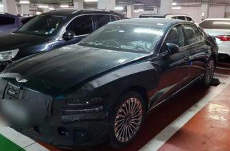В сети опубликовали новые «шпионские» снимки электромобиля Genesis eG80