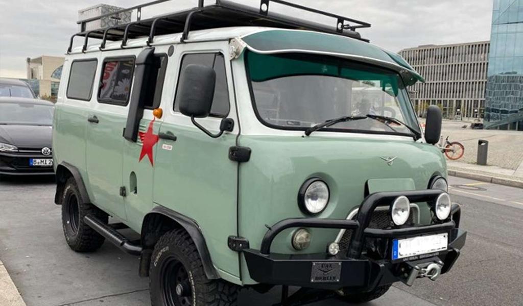 УАЗ «Буханка» за 40 тысяч евро